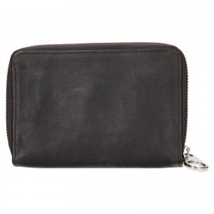 Dámska kožená peňaženka Levi's Emma - šedá