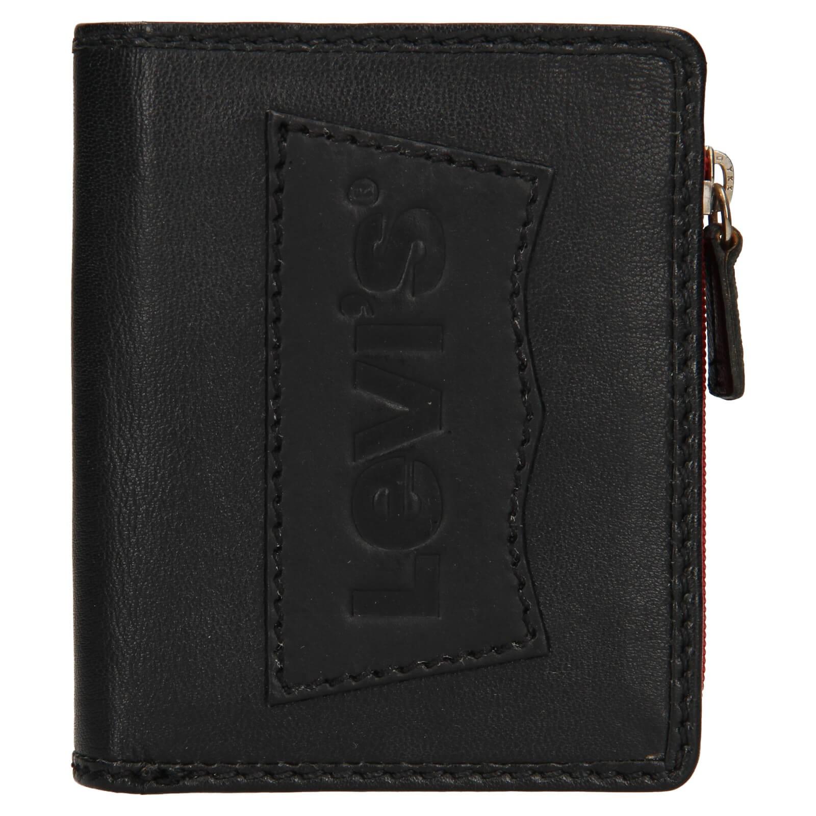 Pánska kožená peňaženka Levis Daniel - čierna.