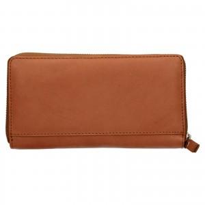 Dámska kožená peňaženka Levi's Emily - hnědá