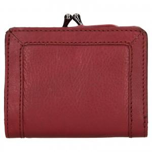 Dámska kožená peňaženka Levi's Grace - vínová
