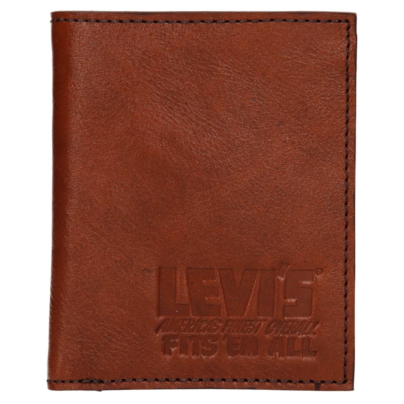 Pánska kožená peňaženka Levis Alexander - hnedá