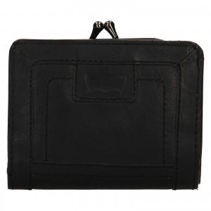 Dámska kožená peňaženka Levi's Grace - čierna