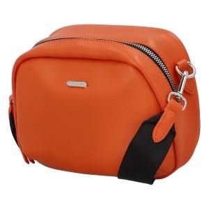 Dámska crossbody kabelka David Jones Trulla - oranžová