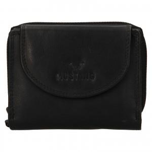 Dámska kožena peňaženka Mustang Alice - čierna