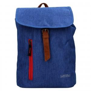 Trendy batoh Mustang Monaco - modrá