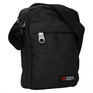 Pánská taška na doklady Enrico Benetti Larson - čierna