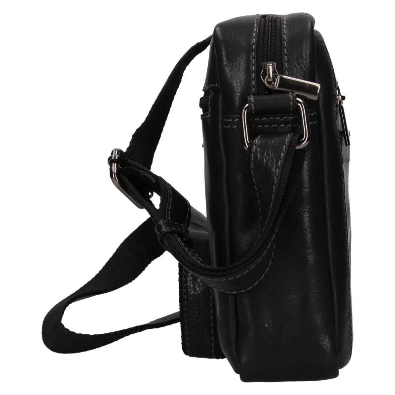 Pánská taška přes rameno Buffalo Wild Merro - čierna