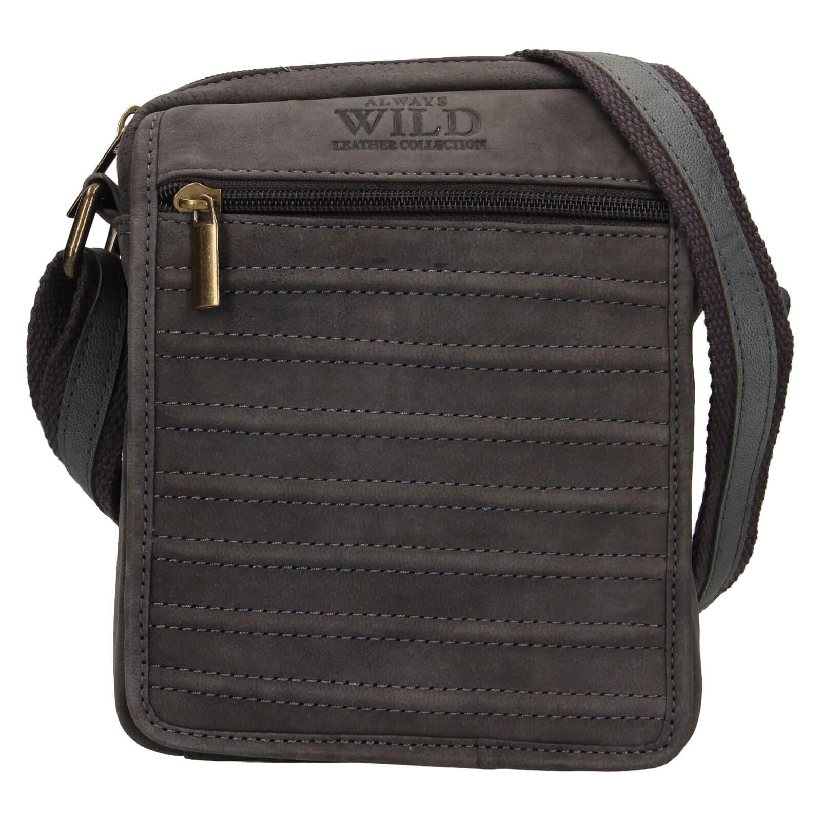 Pánská taška přes rameno Always Wild Riple - čierno-šedá