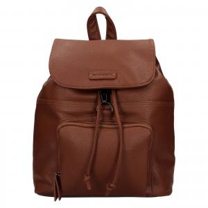 Moderní dámský batoh Enrico Benetti Europa - koňak