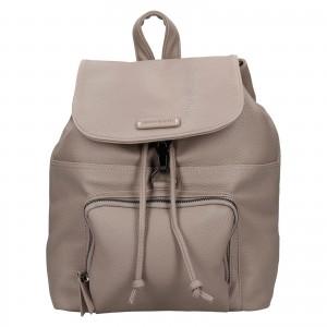 Moderní dámský batoh Enrico Benetti Europa - béžová