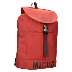 Trendy batoh Mustang Madrid - červená