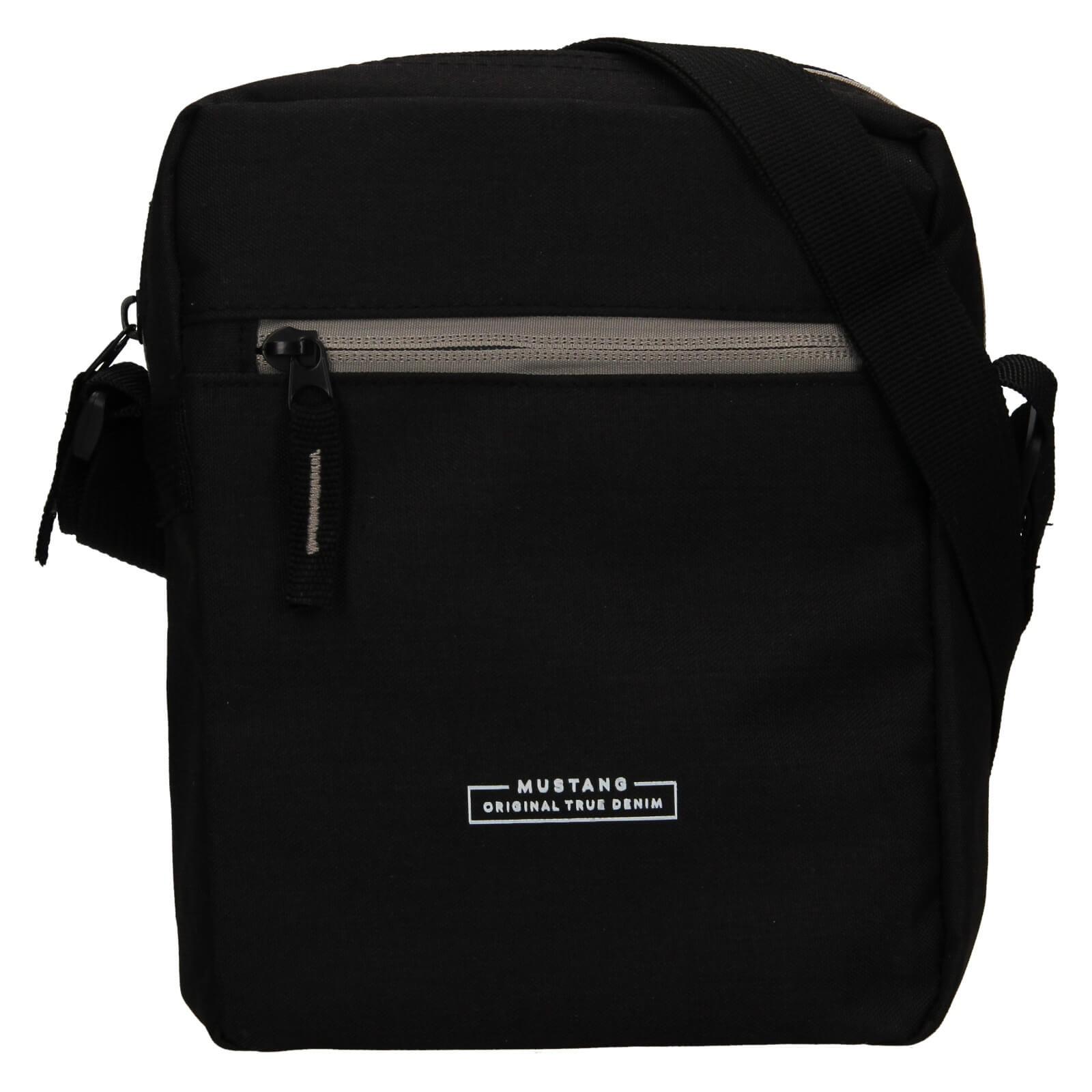 Pánska taška cez rameno Mustang Fabre - čierna