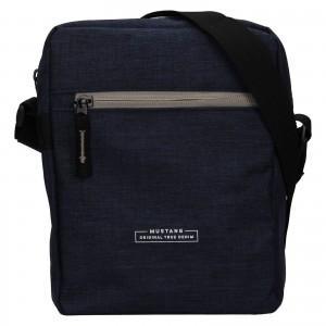 Pánska taška cez rameno Mustang Fabre - tmavo modrá
