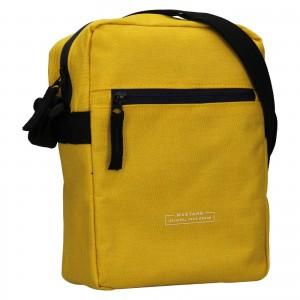 Pánska taška cez rameno Mustang Fabre - žltá