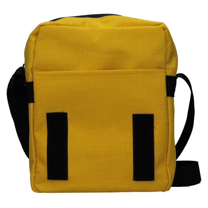 Pánska taška cez rameno Mustang Bobby - žltá