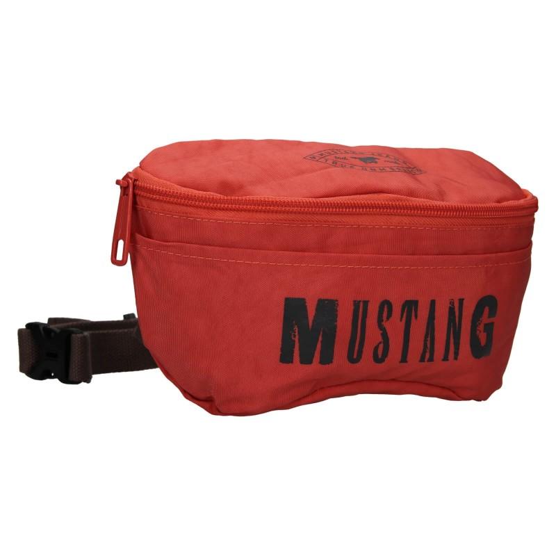 Trendy ľadvinka Mustang London - červená