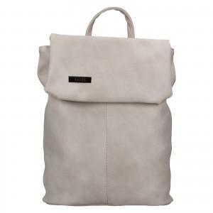 Dámsky batoh Ellis Martha - svetlo šedá