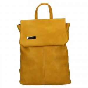 Dámsky batoh Ellis Martha - žltá