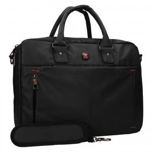 Pánska taška na notebook Enrico Benetti Porte - čierna