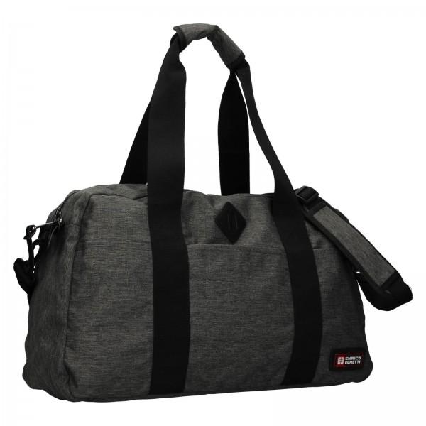 Cestovná taška Enrico Benetti James - šedá