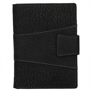 Pánska kožená peňaženka Lagen Connor - čierna