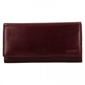 Dámska kožená peňaženka Lagen Victorias - vínová