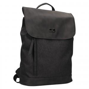 Trendy dámsky batoh Mustang Fiona - čierno-šedá