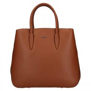 Dámska kožená kabelka Rovicky Veronika - hnedá