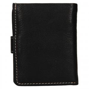 Pánská kožená peněženka Ashwood Harry - černá