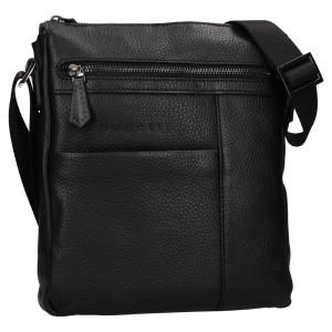 Pánska taška cez rameno Bugatti Joe - čierna