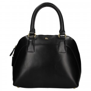 Dámska kožená kabelka Ashwood Miriame - čierna