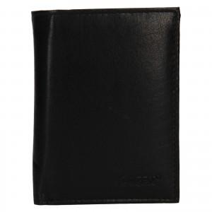 Pánska kožená peňaženka Lagen Dion - čierna