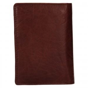 Pánska kožená peňaženka Lagen Josef - hnedá