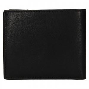 Pánska kožená peňaženka Lagen Denton - čierna