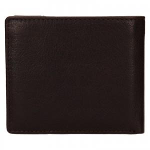 Pánska kožená peňaženka Lagen Denton - hnedá