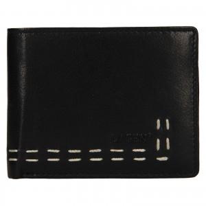 Pánska kožená peňaženka Lagen Bassa - čierna