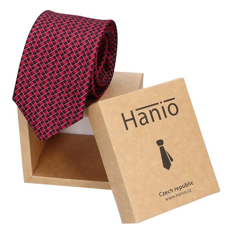 Pánska kravata Hanio Fred - fialová