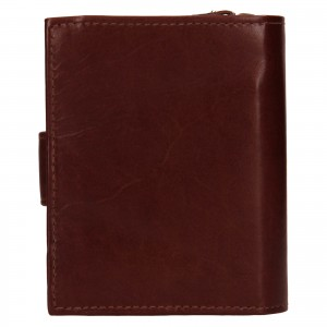 Dámská kožená peňaženka Ashwood Vilma - koňak
