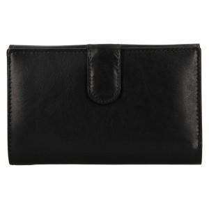 Dámská kožená peňaženka Ashwood Zelda - čierna