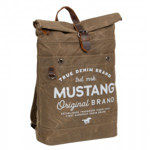 Veľký trendy batoh Mustang Lindr - zelená