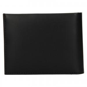 Pánska kožená peňaženka Calvin Klein Leeb - čierna