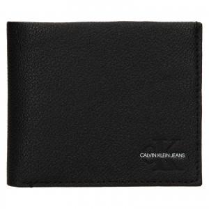 Pánska kožená peňaženka Calvin Klein Seba- čierna