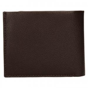 Pánska kožená peňaženka Calvin Klein Seba - hnedá