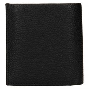 Pánska kožená peňaženka Calvin Klein Mano - čierna