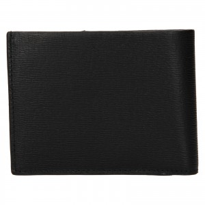 Pánska kožená peňaženka Calvin Klein Nevo - čierna