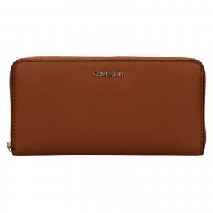 Dámska peňaženka Calvin Klein Aroina - hnedá