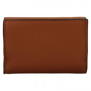 Dámska peňaženka-kabelka Calvin Klein Minas - hnedá