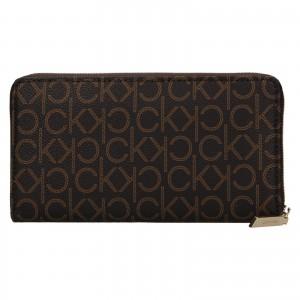 Dámska peňaženka Calvin Klein Ginna - hnedá