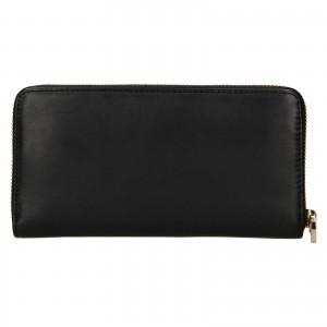 Dámska kožená peňaženka Tommy Hilfiger Kneata - čierna