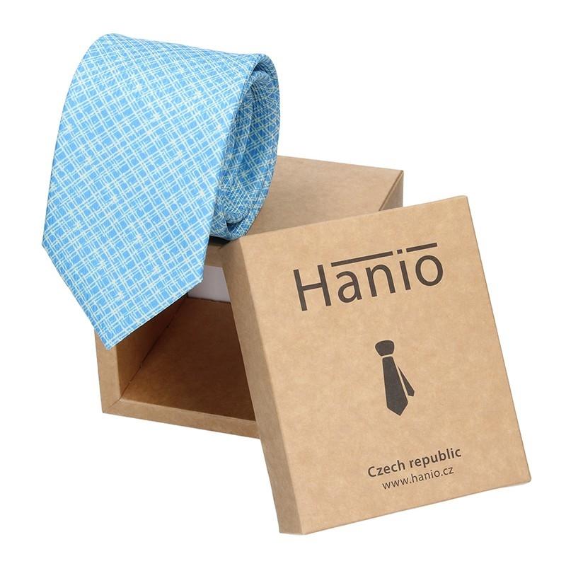 Pánska kravata Hanio Vincent - modrá